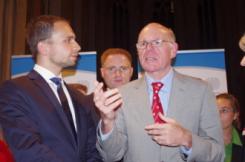 Norbert Lammert, Peter Aumer, Jens Henning-Billon, Regensburger Zukunftsforum