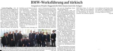 Cem Yasinoglu, BMW Dingolfing