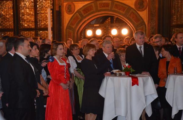 Joachim Gauck, Horst Seehofer, Christian Schlegl, Salih Altuner, Funda Demir