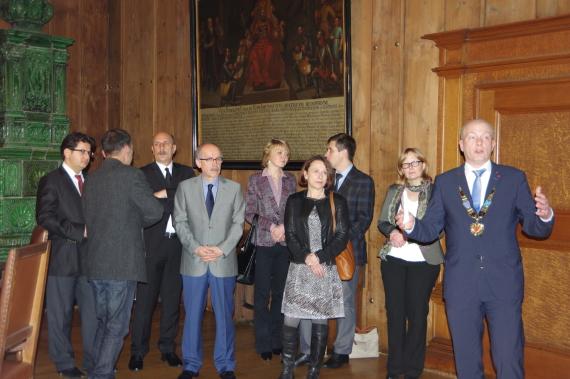 Ali Gökşin, Ankara Büyükşehir Belediyesi, Joachim Wolbergs, Avrupa Ödülü Kazanan Kentler Birliği, Regensburg